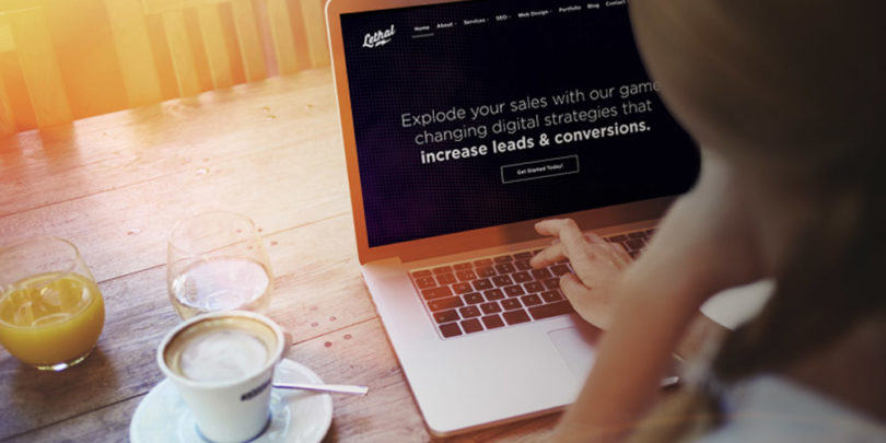 Searching online for a web design company in Perth like Lethal Digital