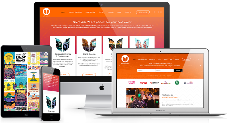 Mobile responsive website designed by Lethal who are a digital media company in Perth