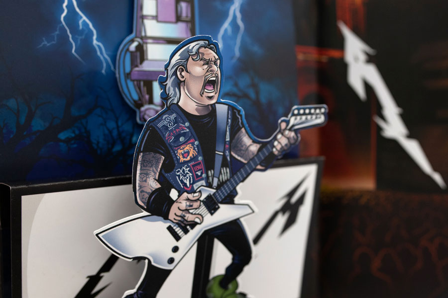 James Hetfield : The Thing That Should Not Be Pop-Up Book Concept by Lethal Digital.