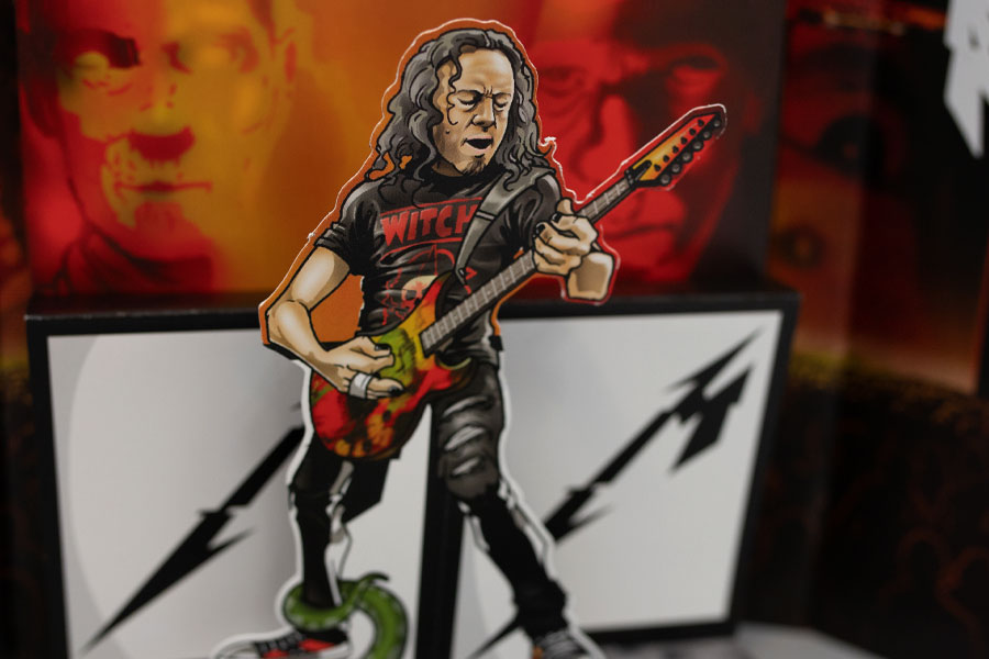 Kirk Hammett : The Thing That Should Not Be Pop-Up Book Concept by Lethal Digital.