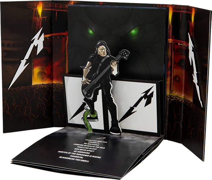 Robert Trujillo : The Thing That Should Not Be Pop-Up Book Concept by Lethal Digital.
